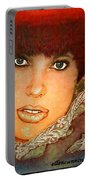 Green Eyed Redhead IIi Portable Battery Charger