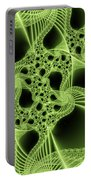 Green Filigree Portable Battery Charger