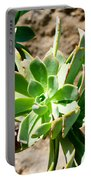 Green Flower Portable Battery Charger