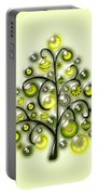 Green Glass Ornaments Portable Battery Charger