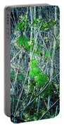 Green In Winter Portable Battery Charger