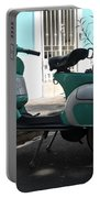 Green Vespa Portable Battery Charger