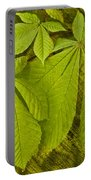 Green Leaves Series Portable Battery Charger by Heiko Koehrer-Wagner