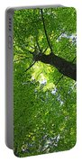 Green Maple Canopy Portable Battery Charger