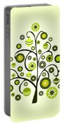 Green Ornaments Portable Battery Charger