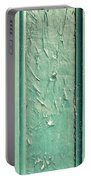Green Painted Wood Portable Battery Charger