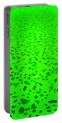 Green Representational Abstract Portable Battery Charger