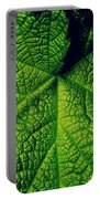 Green Ribbons Of Life Portable Battery Charger
