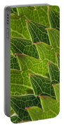Green Scales Of A Dragon Portable Battery Charger