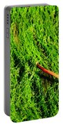 Green - Seaside Abstract Portable Battery Charger
