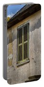 Green Shutters Stucco Walls St Augustine Portable Battery Charger
