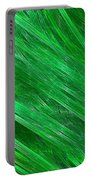 Green Streaming Portable Battery Charger