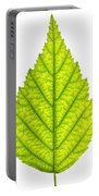 Green Tree Leaf Portable Battery Charger