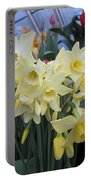 Greenhouse Daffodils Portable Battery Charger