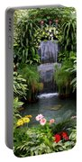 Greenhouse Garden Waterfall Portable Battery Charger