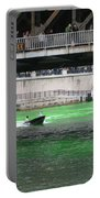 Greening The Chicago River Portable Battery Charger