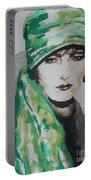 Greta Garbo Portable Battery Charger