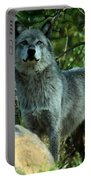 North American Wolf  Portable Battery Charger