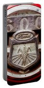 Grill Logo Detail - 1950s-vintage Ford 601 Workmaster Tractor Portable Battery Charger