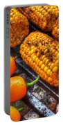 Grilling Corn And Peppers Portable Battery Charger