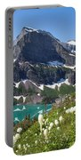 Grinnell Lake With Beargrass Portable Battery Charger