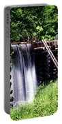 Grist Mill And Water Trough Portable Battery Charger