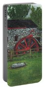 Grist Mill At Wayside Inn Portable Battery Charger