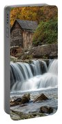 Grist Mill With Vibrant Fall Colors Portable Battery Charger