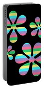 Groovy Flowers 4 Portable Battery Charger