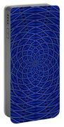 Mandala Blue Marvel Portable Battery Charger