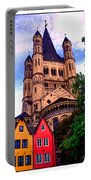 Gross St. Martin In Cologne Germany Portable Battery Charger