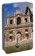 Grotesque Gallery In Real Alcazar Of Seville Portable Battery Charger