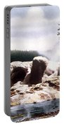 Grotto Geyser Yellowstone Np Portable Battery Charger