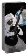 Ground Control To Major Tom Portable Battery Charger by Nikki Marie Smith