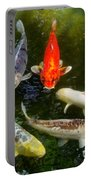 Group Of Koi 2 Portable Battery Charger