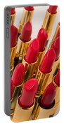 Group Of Red Lipsticks Portable Battery Charger