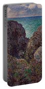 Group Of Rocks At Port Goulphar Portable Battery Charger