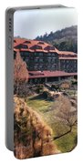 Grove Park Inn In Early Winter Portable Battery Charger by Paulette B Wright