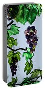 Growing Glass Grapes Portable Battery Charger