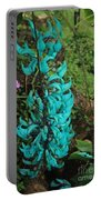 Growing Turquoise Portable Battery Charger
