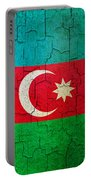 Grunge Azerbaijan Flag Portable Battery Charger