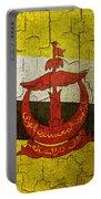 Grunge Brunei Flag Portable Battery Charger