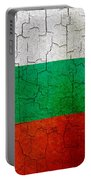 Grunge Bulgaria Flag Portable Battery Charger