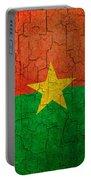 Grunge Burkina Faso Flag Portable Battery Charger