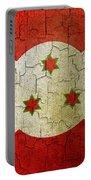 Grunge Burundi Flag Portable Battery Charger