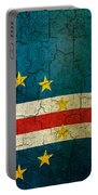 Grunge Cape Verde Flag Portable Battery Charger
