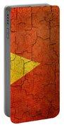 Grunge East Timor Flag Portable Battery Charger