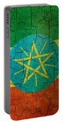 Grunge Ethiopia Flag Portable Battery Charger