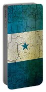 Grunge Honduras Flag Portable Battery Charger