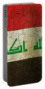 Grunge Iraq Flag Portable Battery Charger